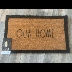 Rae Dunn - Our Home Outdoor Mat - NWT 🇺🇸
